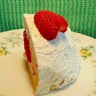 お椀で作る ショートケーキ♪