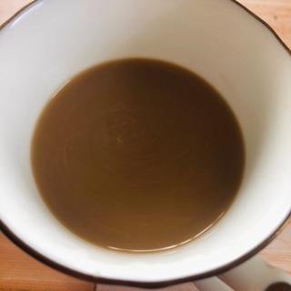 シナモン黒蜜のミルクコーヒー