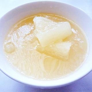 冬瓜スープ 夏バテや冬の風邪防止に