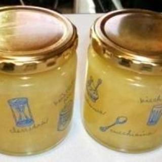 王林りんごと砂糖で作るジャム
