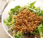 生姜納豆ダレサラダ
