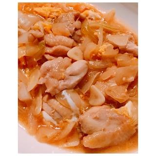 カンタン酢活用♪食べ応え◎!ぶつ切り鶏肉の親子煮