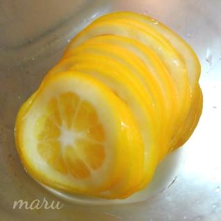 糖質制限★レモンのなんちゃって砂糖漬け♡