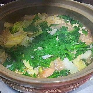鶏肉の水炊き