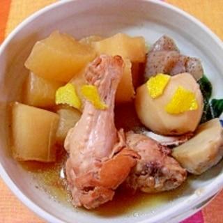 大根と里芋と鶏手羽元の煮物