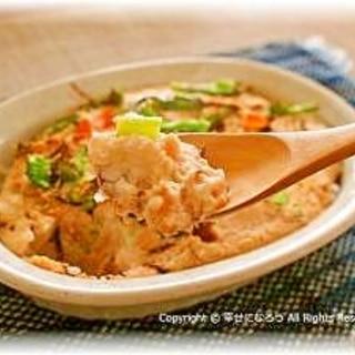お豆腐ソースのヘルシードリア