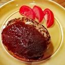 ふっくらハンバーグ(豚肉100%)
