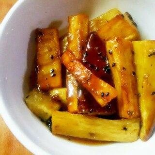 メープルシロップ☆キャラメル大学芋