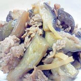 牛肉となすびのしぐれ煮