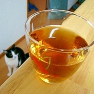 意外にいけました(/・ω・)/☆蜂蜜レモン麦茶♪