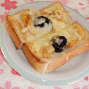 フルーツチーズパン