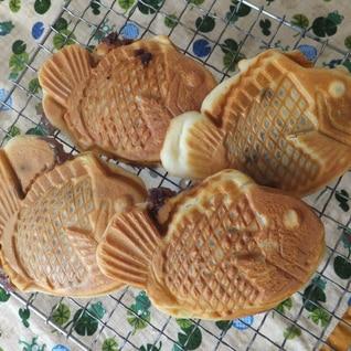 米粉で!皮がカリカリおいしい鯛焼き