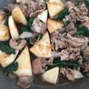 かぶと豚肉のさっぱり炒め