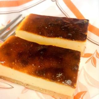 【スクエア型で】ベイクドチーズケーキ