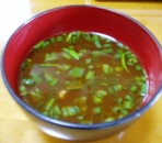温まる~♪納豆味噌汁