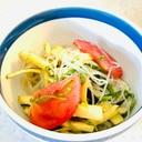 夏野菜の春雨サラダ