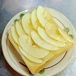 超簡単♪りんごトースト(^O^)