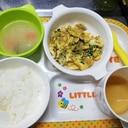 納豆たまごやき~乳食完了期~