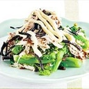 菜の花レシピ 菜の花とささみのマヨサラダ