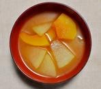 冬瓜とかぼちゃの味噌汁