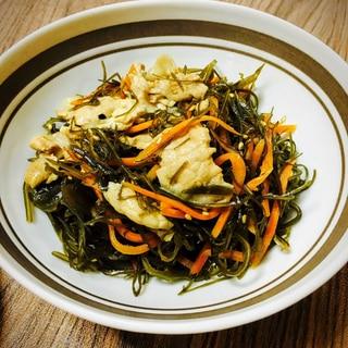 主菜になる♬刻み昆布と豚の炒め煮