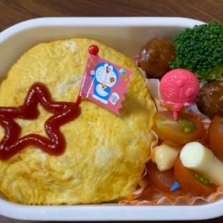 幼児用お弁当に☆オムライス
