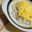 ふりかけ卵焼きライス