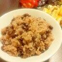 レンジde赤飯