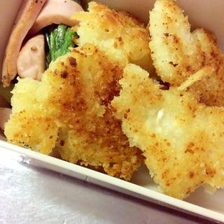 白身魚で簡単♪チーズパン粉焼き