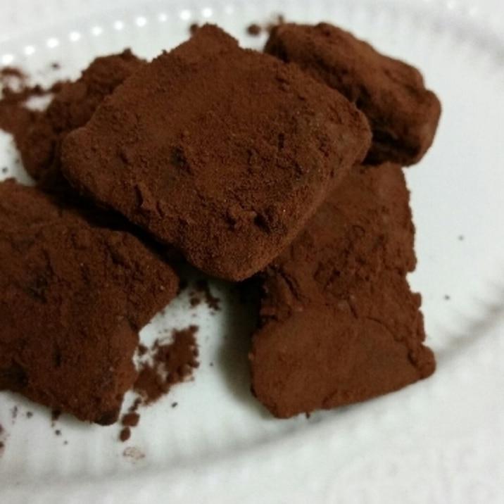 ココア 生 パウダー チョコ 必要な表示事項  