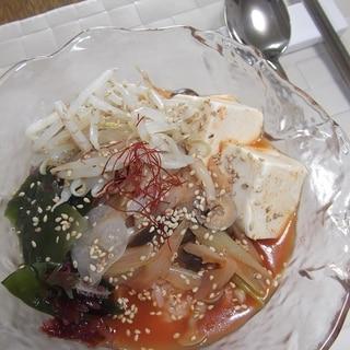 冷汁風★冷しスンドゥブチゲ飯