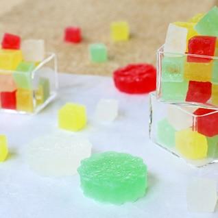 簡単!常温で溶けない、涼しげな和菓子の干琥珀