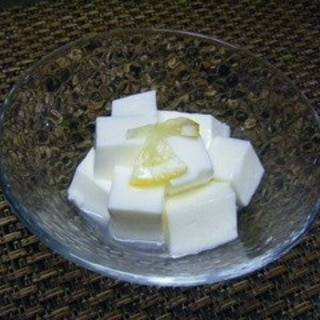 杏仁から作る・超‼本格‼杏仁豆腐
