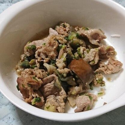 生姜を多く入れて作りました(*^▽^*)/♪ 家族に大好評でしたよ((o≧ワ≦)o  御飯も進んで元気になると思います!!