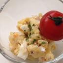 ジャガイモささみ卵のサラダ