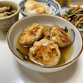 おから煮(卯の花)リメイク⭐️餡かけ鶏つくね