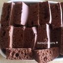 【子供おやつ】トースターで焼くココアホットケーキ