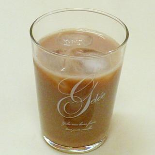アイスチョコミルク