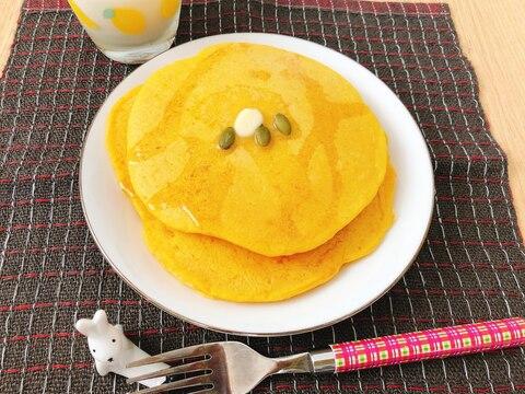 簡単!かぼちゃのパンケーキ(潰瘍性大腸炎◎)