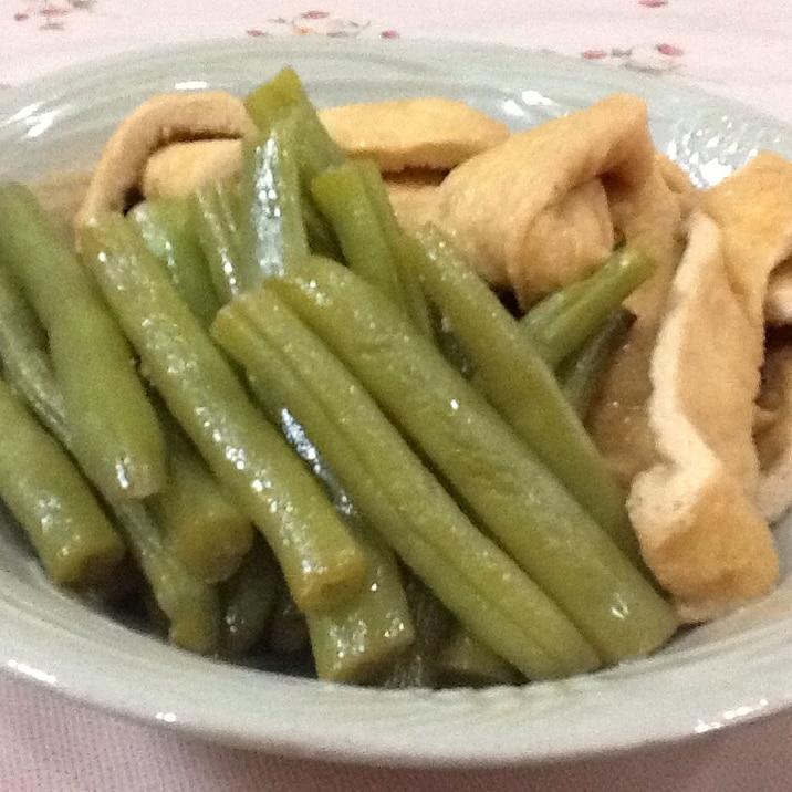 いんげん の 煮物