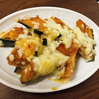 簡単美味しい☆かぼちゃのチーズ焼き