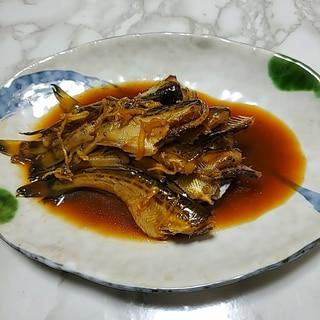 鰰(ハタハタ)の生姜煮