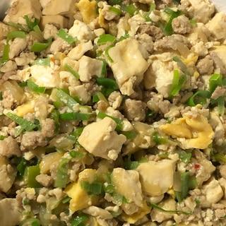 新玉ねぎ麻婆豆腐