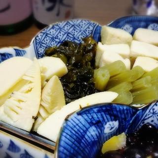 白だしで♪ 竹の子とワカメと高野豆腐の煮物✿