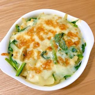 豆乳で作る ポテトグラタン