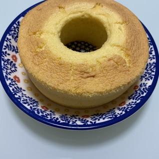 ホットケーキミックスで!シフォンケーキ