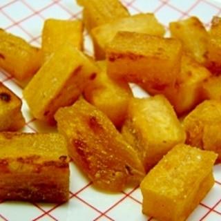 干し芋の塩バター焼き
