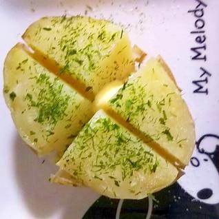 レンジのみで簡単!新じゃがバターのり塩味