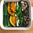 色々野菜のさっぱり麺つゆ漬