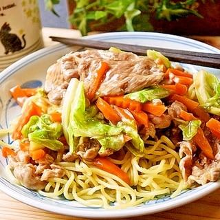 満腹最高!柔らか麺de野菜たっぷりあんかけ焼きそば